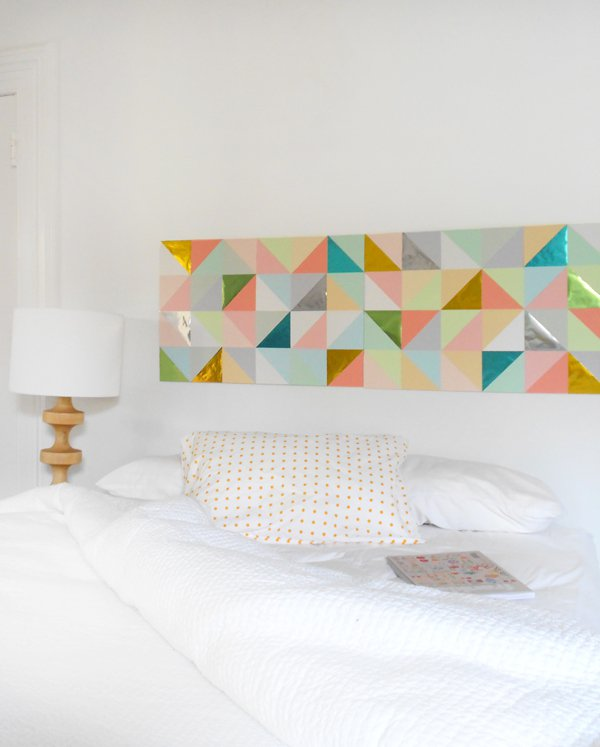 DIY ideas for decorating your bedroom walls-6