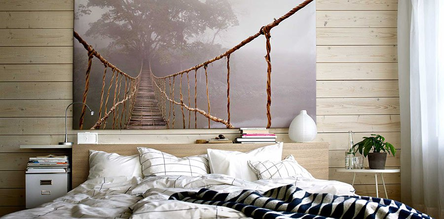 DIY ideas for decorating your bedroom walls