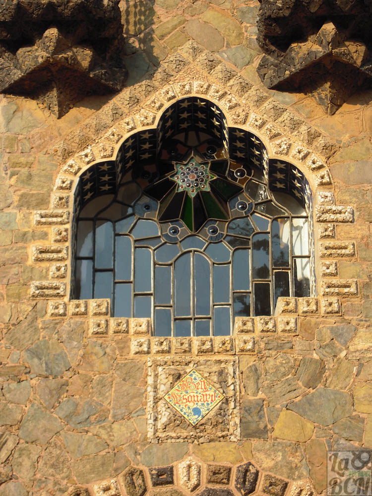 Gaudi_elements_window_Torre_Bellesguard