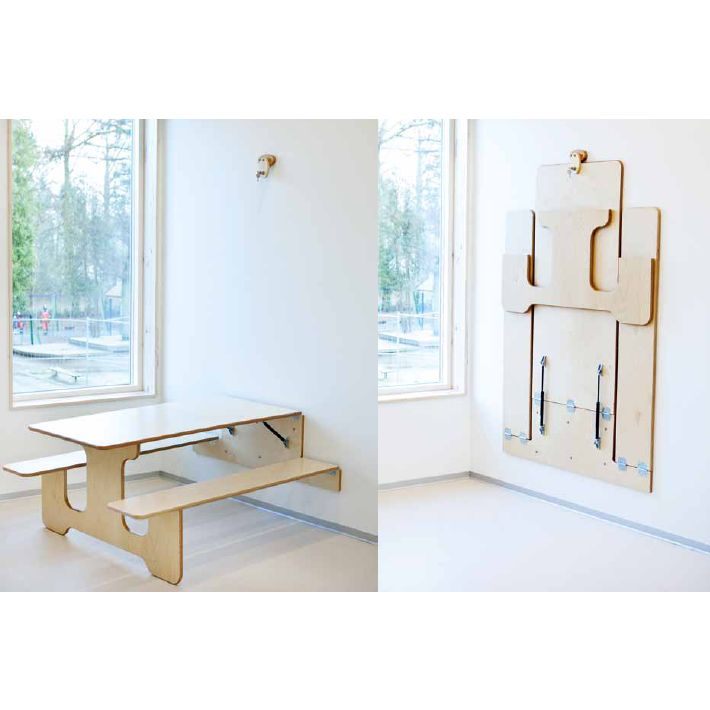 foldable furniture for small apartments becoration
